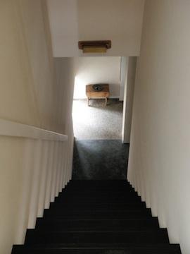 眺望を最大限に楽しむ家の写真 シンプルな階段