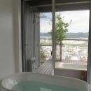 浴室からの眺望