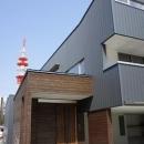 筒井晃典の住宅事例「コンパクトかつ有機的な家」