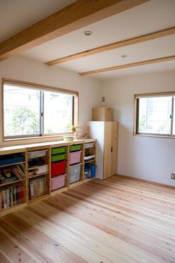 寒川 芳咲健純 風わたる家の部屋 一階予備室