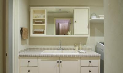 M邸 (使いやすさとデザイン性ある洗面台)