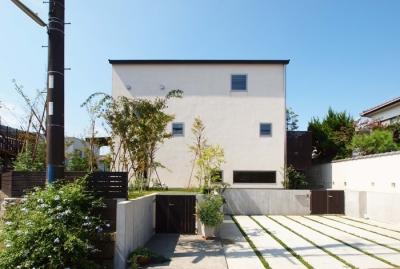 外観 (七里ヶ浜の家)