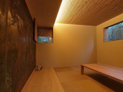 居室 (七里ヶ浜の家)