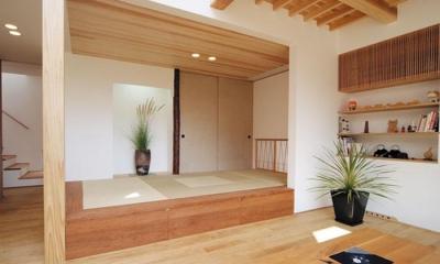 空間と素材でさりげなく遊ぶ暮らし (和室)