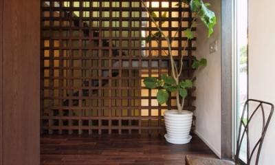 七里ヶ浜の家 (エントランス)