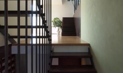 七里ヶ浜の家 (階段)