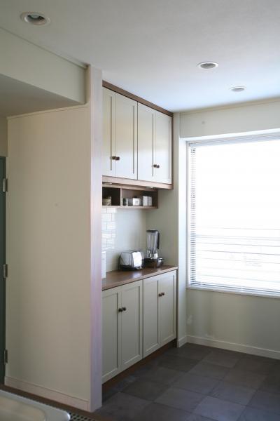 キッチン周りオリジナル収納 (O邸)