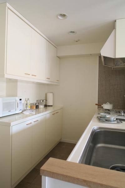 キッチン収納スペース (T邸)