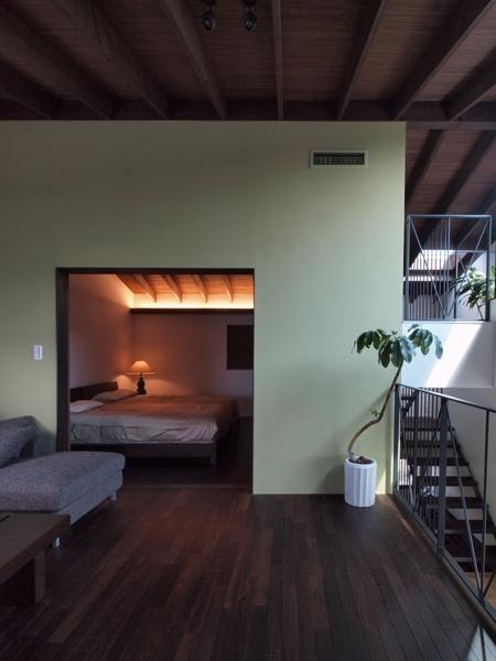七里ヶ浜の家の部屋 ベッドルーム