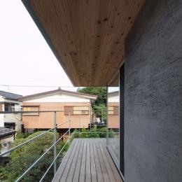 玉川上水の家 (テラス)