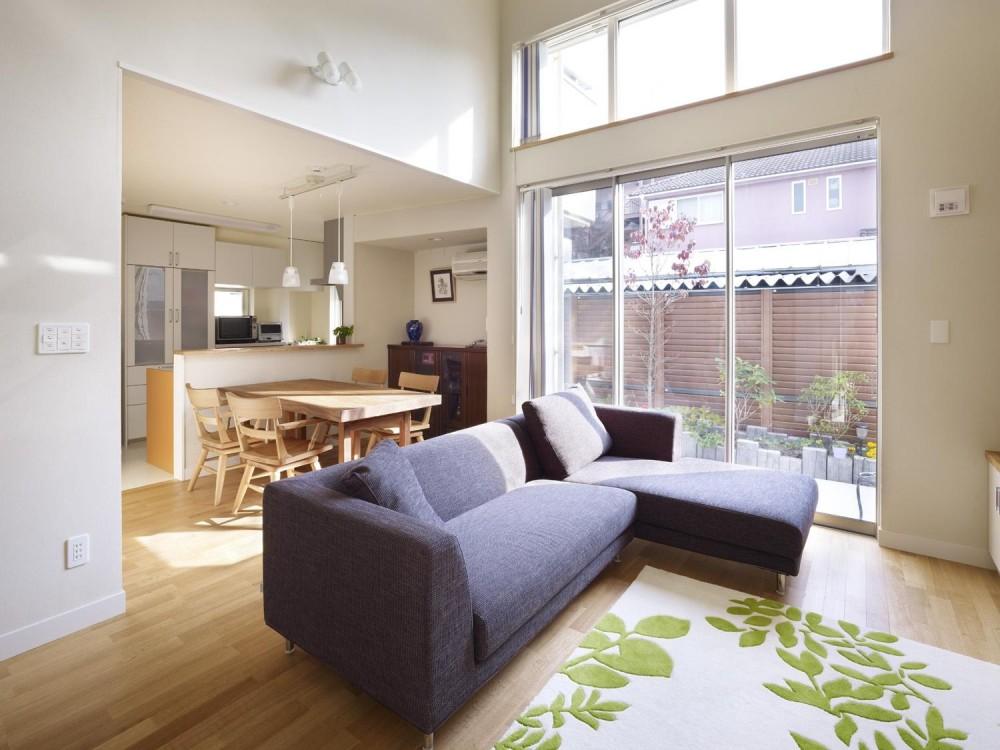 ドーム建築設計事務所「スケルトン階段と光庭」