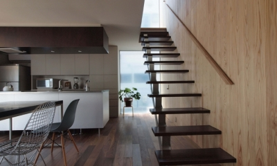 玉川上水の家 (階段)