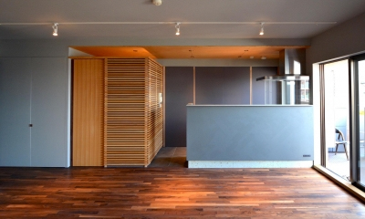 千葉県市川市Wさんの家 (落ち着いた佇まいのキッチン)