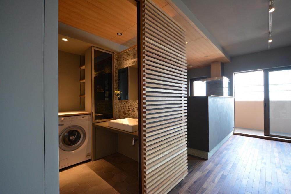 千葉県市川市Wさんの家 (特別な場所としての洗面室)