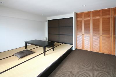 T邸 (畳スペース&リビング)