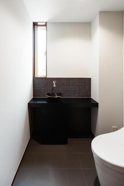 トイレ (高石の家)