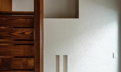高石の家 (階段室)