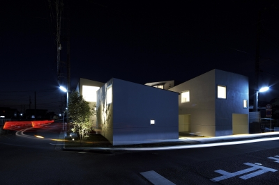 house and atelier PTL (外観)