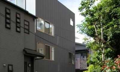 ライトコートの家 (シンプルな外観)