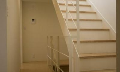 ライトコートの家 (階段)