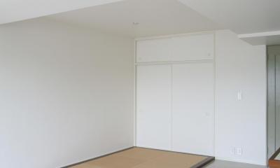 K邸 (フラットな畳スペース)