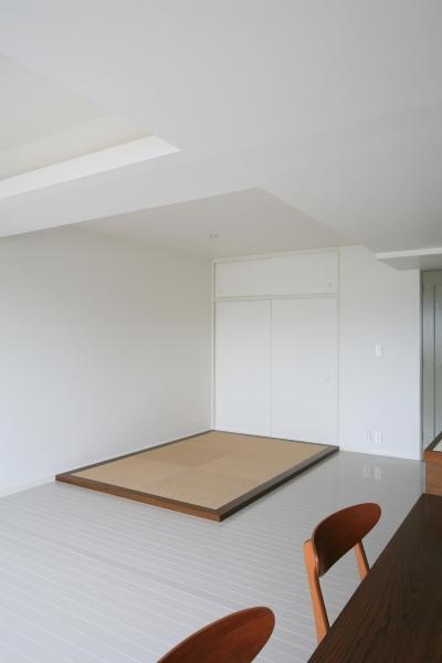 フラットな畳スペース (K邸)