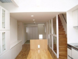 SNZ緑町 M邸2006&東京Jハウス2005 (ダイニングキッチン)