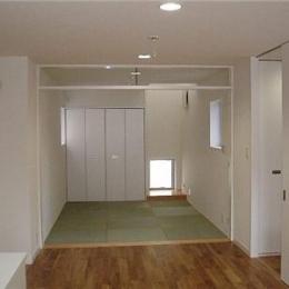 畳コーナー (SNZ緑町 M邸2006&東京Jハウス2005)