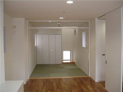 SNZ緑町 M邸2006&東京Jハウス2005 (畳コーナー)