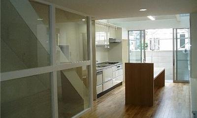 SNZ緑町 M邸2006&東京Jハウス2005 (階段)