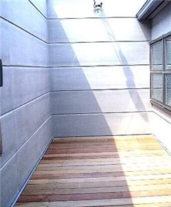 SNZ緑町 M邸2006&東京Jハウス2005 (ウッドデッキテラス)
