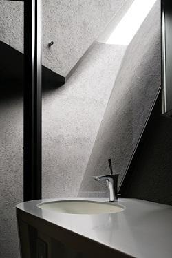 SRKの部屋 光が差し込む洗面台