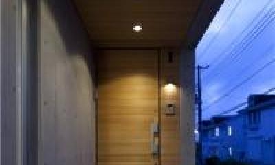 yokohama isogo house (玄関)