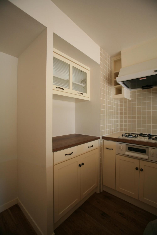 K邸 (食器、家電収納棚)