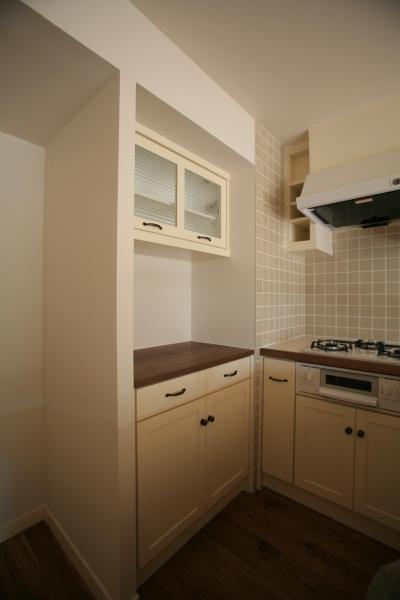 食器、家電収納棚 (K邸)