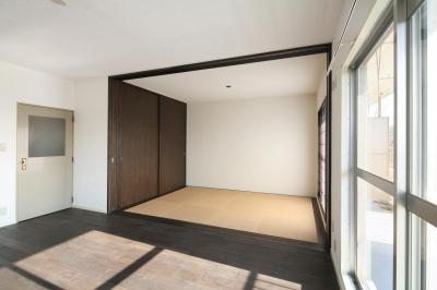 琉球畳のモダンな和室 (S邸)