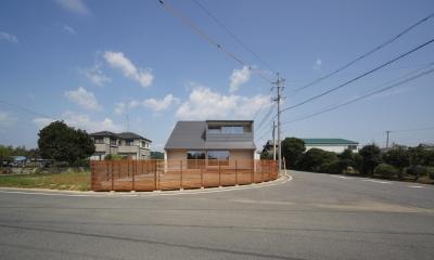 おおきな屋根を楽しむ家