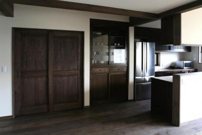 キッチン (F邸)