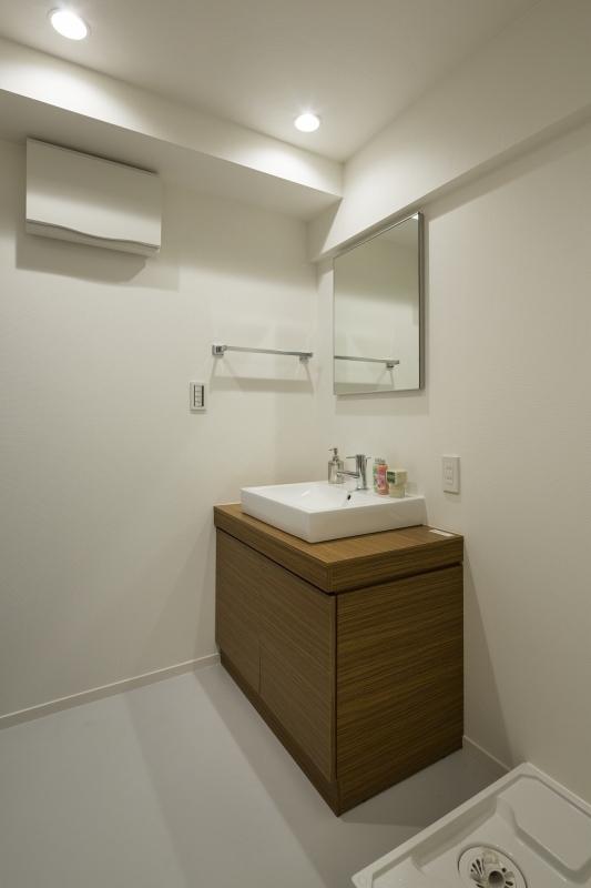 No.98 築31年マンションリフォームの部屋 洗面所