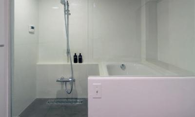 Y邸 (ホテル使用のバスルーム)