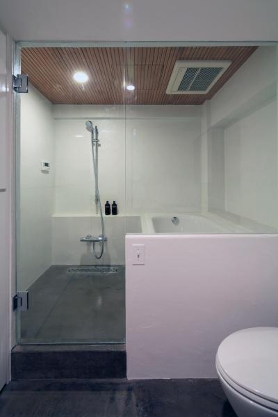 ホテル使用のバスルーム (Y邸)