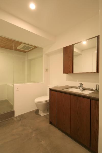 トイレ&洗面台 (Y邸)