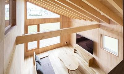 当別の家 シンプルな北国の住まい|新築