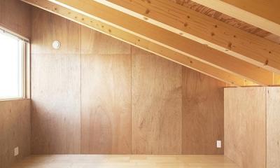 当別の家 シンプルな北国の住まい|新築 (自然を感じる空間)