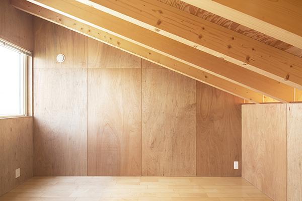 当別の家の部屋 自然を感じる空間