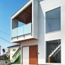 Kuniaki Yokomatsuの住宅事例「鶴田の家」