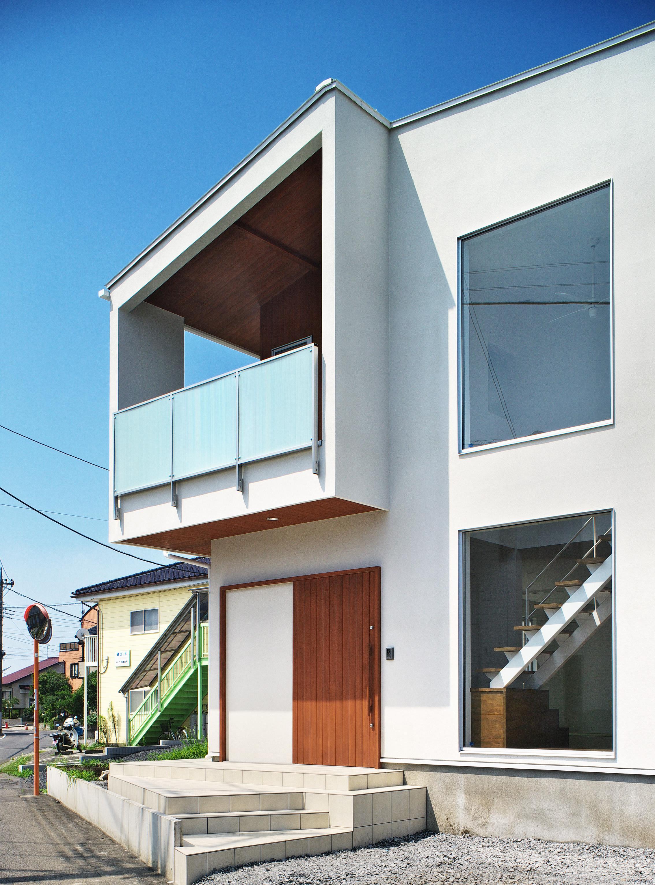 鶴田の家の部屋 外観1