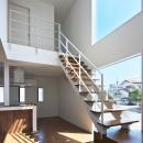 鶴田の家の写真 大きな階段