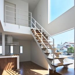 鶴田の家 (大きな階段)