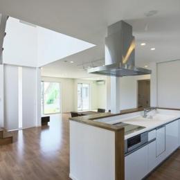 鶴田の家 (キッチン)